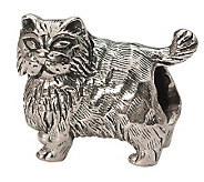 Prerogatives Sterling Persian Cat Bead - J299505