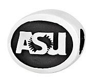 Sterling Silver Arizona State University Bead - J300705