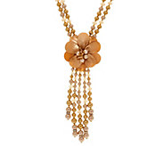 Joan Rivers Simulated Pearl Starlet Style 22 Necklace w/3 Extender - J351505