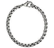Steel by Design Mens 8-1/4 Bold Rolo Link Bracelet - J385505
