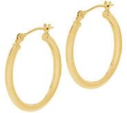 EternaGold 3/4 Polished Round Hoop Earrings, 14K Gold - J386205