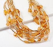 Linea by Louis DellOlio Multi Row Carnival Necklace - J354006
