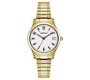 Caravelle Womens Easy Reader Expansion Bracelet Watch - J383306