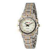 Peugeot Womens GLO-Brite Two-Tone Stainless Steel Watch - J391906