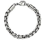 Steel by Design Mens 8-3/4 Rolo Bracelet - J385507