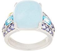 Milky Aquamarine Ring, Sterling Silver - J355608