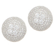 Affinity Diamond 3/4 cttw Round Pave Sterling Stud Earrings - J356308