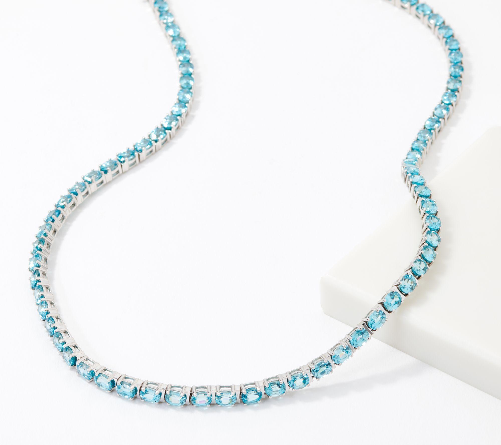 Sterling Silver Decorative Dangle 18 Necklace