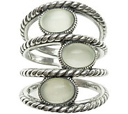 Elyse Ryan Sterling Gemstone Station Wrap Ring - J383508
