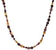 Carolyn Pollack Sterling Gemstone Bead Necklace - J318309