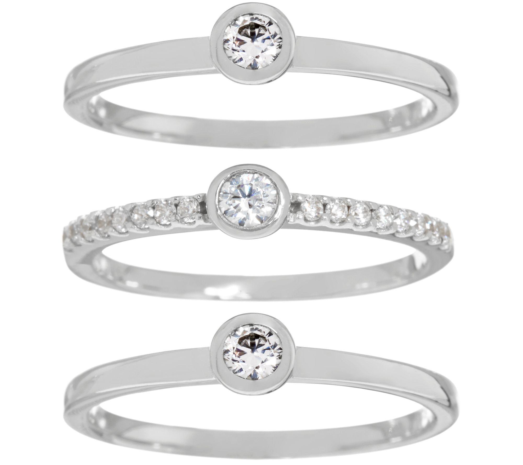 Diamonique — Rings — Jewelry — QVC