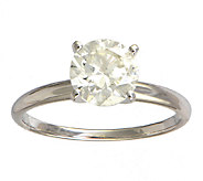 Affinity 1-1/2 cttw Diamond Solitaire Ring,14K White Gold - J339409