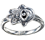 Hagit Sterling Hamsa Ring - J341809