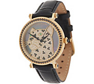 Judith Ripka Stainless Steel & Gemstone Leopard Watch - Lena - J357009