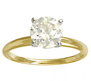 Affinity 1-1/2 cttw Diamond Solitiare Ring,14K Yellow Gold - J339411
