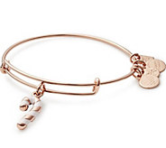 Alex and Ani Candy Cane Charm Bangle - J384811