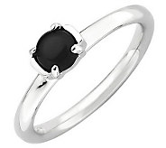 Simply Stacks Sterling Polished Cabochon Gemstone Ring - J308912