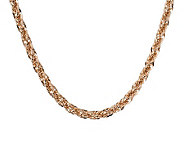 Bronzo Italia 18 Polished Bold Singapore Necklace - J313512