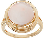 Angel Skin Coral Ring 14K Gold - J348512