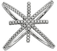 Sterling Crystal Star Ring - J376812