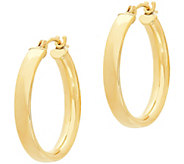 EternaGold 7/8 Polished Round Hoop Earrings, 14K Gold - J386213