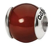 Prerogatives Sterling Carnelian Gemstone Bead - J298214