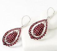 Gemstone Orb Drop Earrings, Sterling Silver - J360414