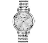 Bulova Womens Classic Slim Case Dress Watch - J378514