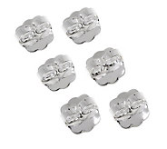 UltraFine Silver Set of 3 Oversized Earring Clutches - J304415