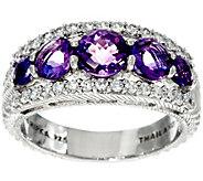 Judith Ripka Sterling Gemstone Tapered Ring - J329715