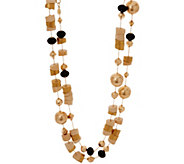 Linea by Louis DellOlio Aztec Style Bead Necklace - J335215