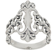 Carolyn Pollack Sterling Silver Country Couture Signature Ring - J355115