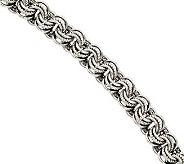 Stainless Steel 7 Rolo Multi-Link Bracelet - J312016