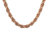Bronzo Italia 18 Bold Fancy Rope Necklace - J313516