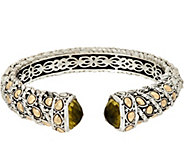 JAI Sterling Silver & 14K Gold Lotus Petal Cuff - J347316