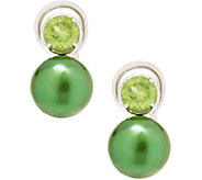 Honora Cultured Pearl and Gemstone Earrings - J354616