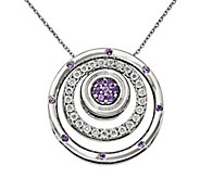 Simply Stacks Birthstone Stackable Pendants w/18 Chain - J340917