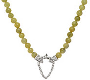 Connemara Marble Irish Beaded Necklace with Clasp - J352517
