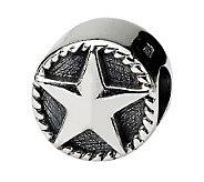 Prerogatives Sterling Star Bead - J111318