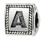 Prerogatives Sterling Triangle Alphabet Bead - J113018