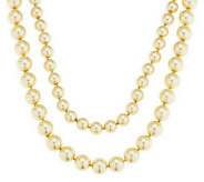 As Is Joan Rivers Set of 2 Simulated Pearl Necklaces - J327819