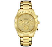 Caravelle New York Goldtone Womens Watch - J343119