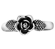Or Paz Sterling Silver Rose Toe Ring - J343419
