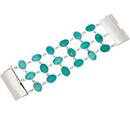 EXEX by Claudia Agudelo Sterling Silver Turquoise Bracelet - J350819