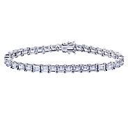 Diamonique Sterling Princess Tennis Bracelet - J311920