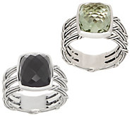 Peter Thomas Roth Sterling Silver & Gemstone Cushion Ring - J357020