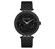 Caravelle Womens Stainless Crystal Rock Bracelet Watch - J383320