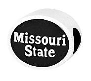 Sterling Silver Missouri State University Bead - J300821