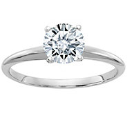 Moissanite 1.00 cttw Round Solitaire Ring, 14KGold - J385921