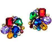 Linea by Louis DellOlio Crystal Bead Cluster Earring - J390521